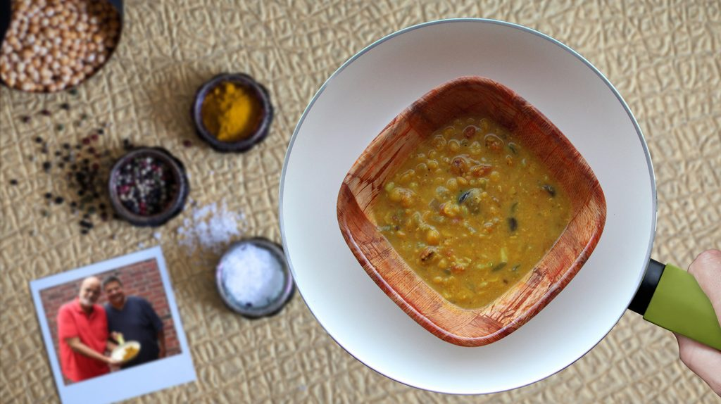 Chana Dal zum Chicken Curry