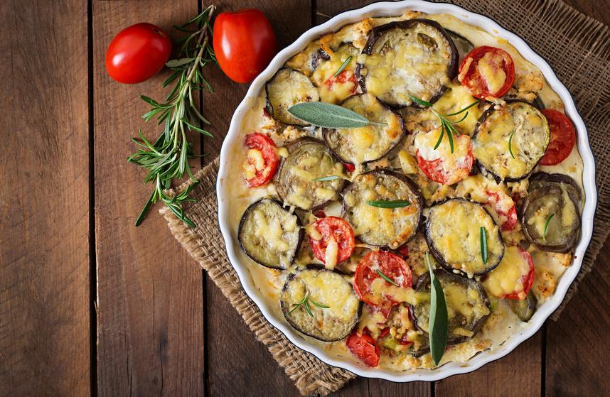 Auflauf mit Hackfleisch, Auberginen und Kartoffeln