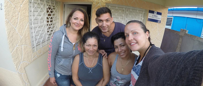 Sady und Familie in Viñales