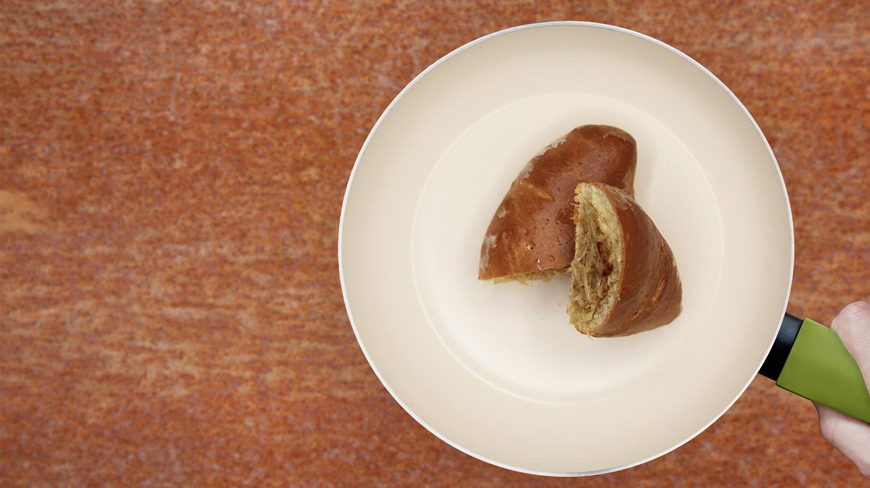 Piroschki mit Sauerkraut