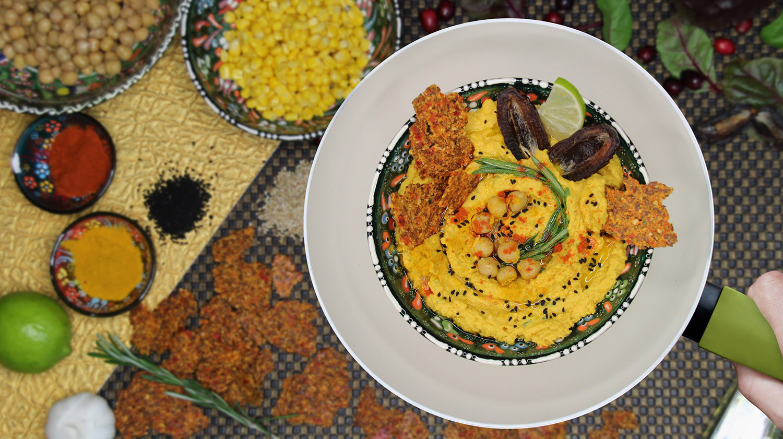 Rosmarin-Mais-Hummus