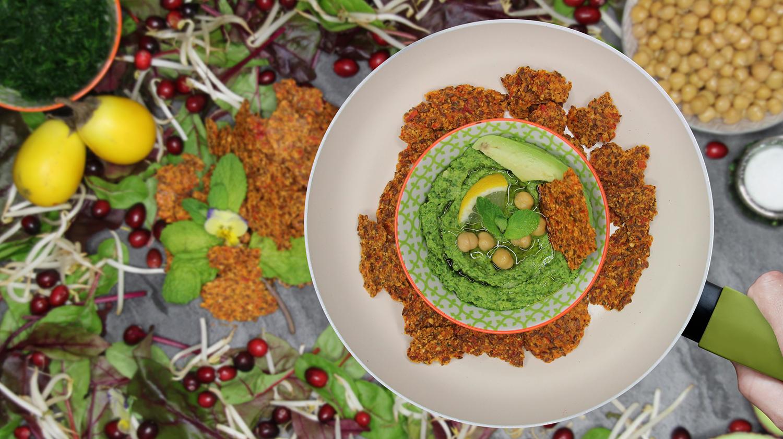 Minz-Spinat-Hummus