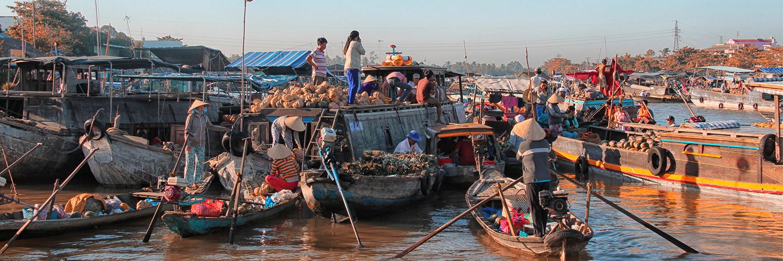 Alles im Fluß - Mekong Delta