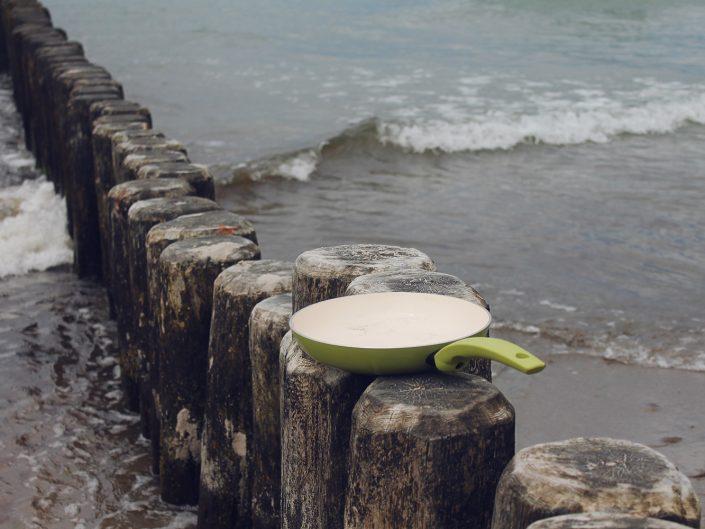 Die Grüne Pfanne am Meer in Rostock