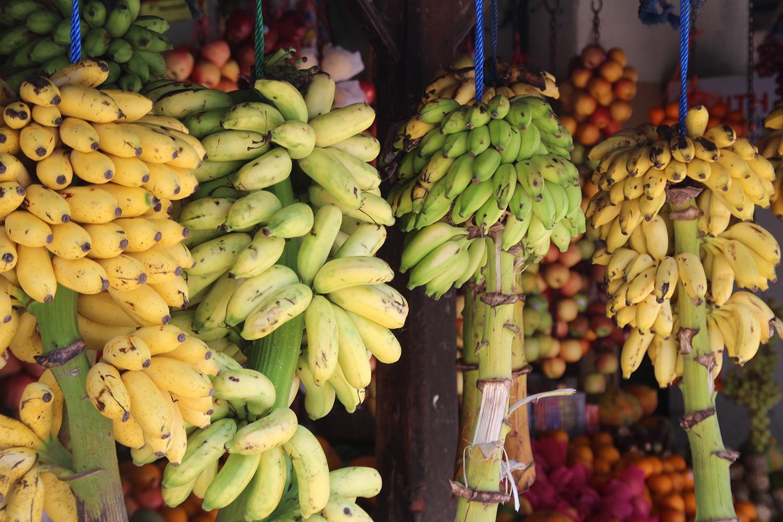 Bananenstand Sri Lanka