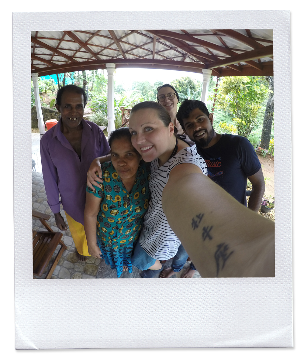 Chamara Familie