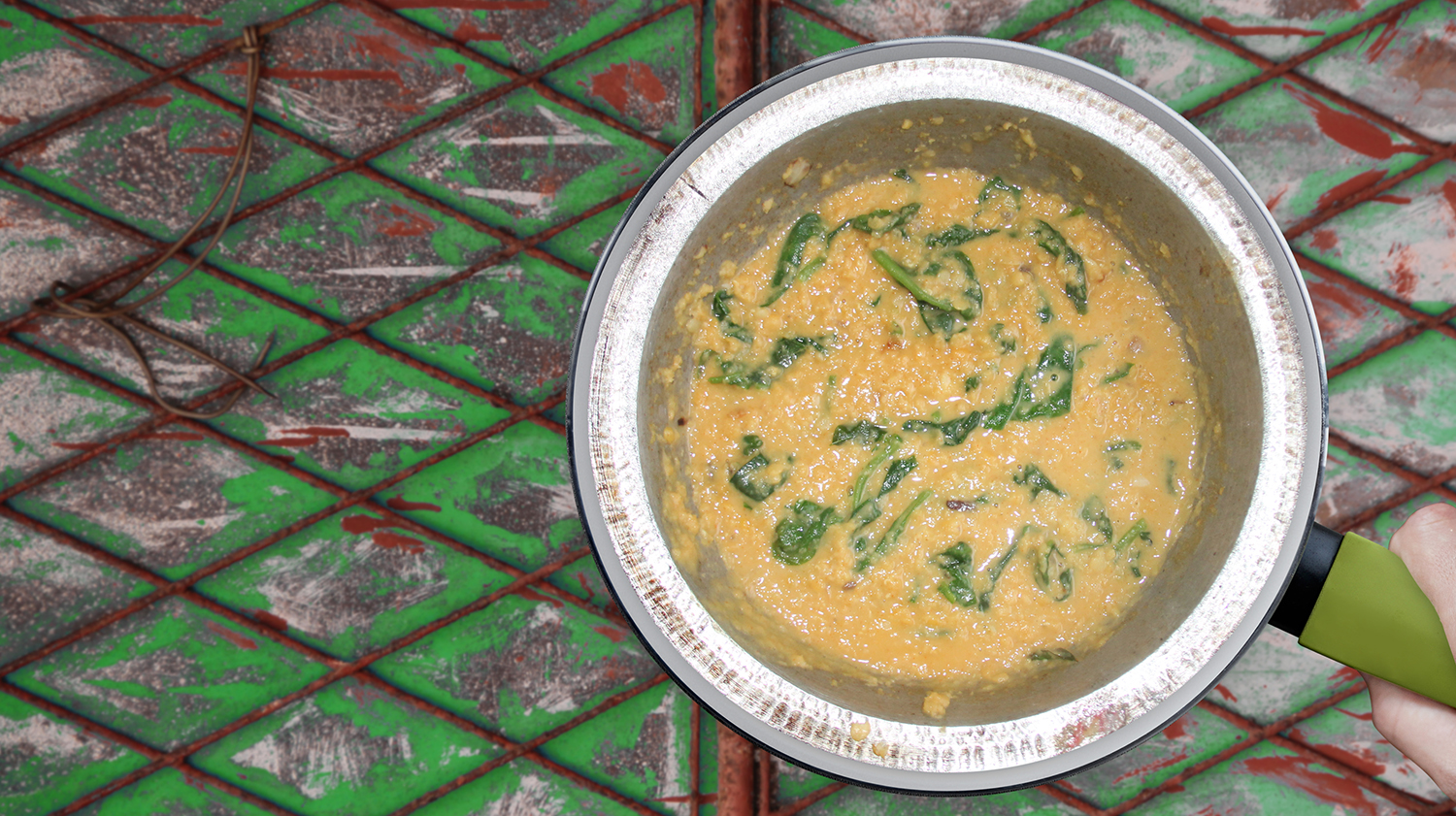Dhal-Spinat-Curry