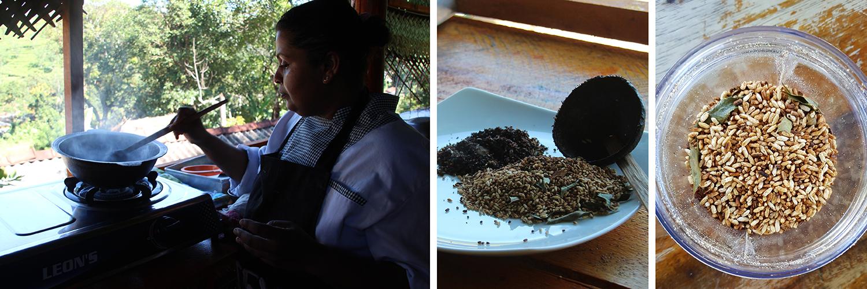 Black Coconut Powder