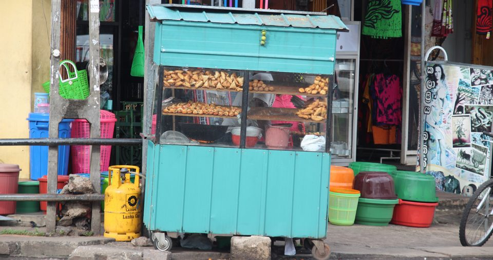 Brotstand in Colombo