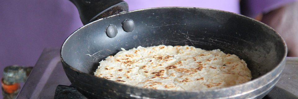 Coconut Rotti