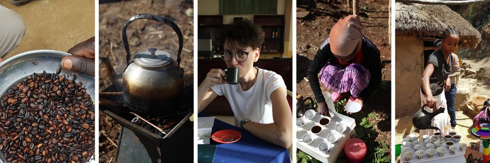 Kaffeezeremonie in Äthiopien