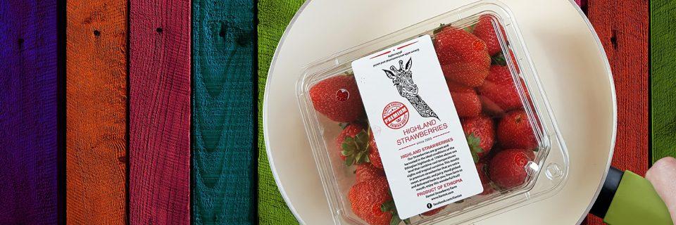 Äthiopien Erdbeeren