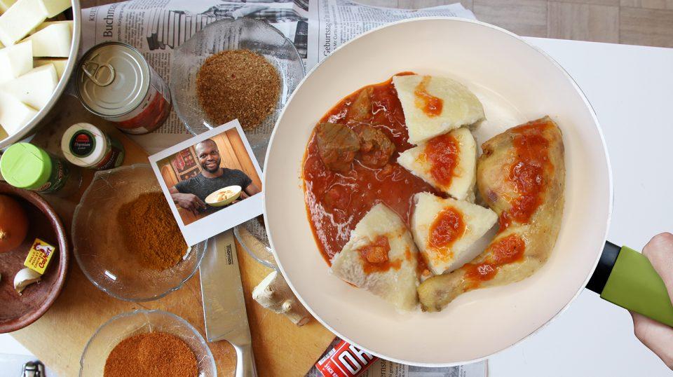 Chicken Stew Yams