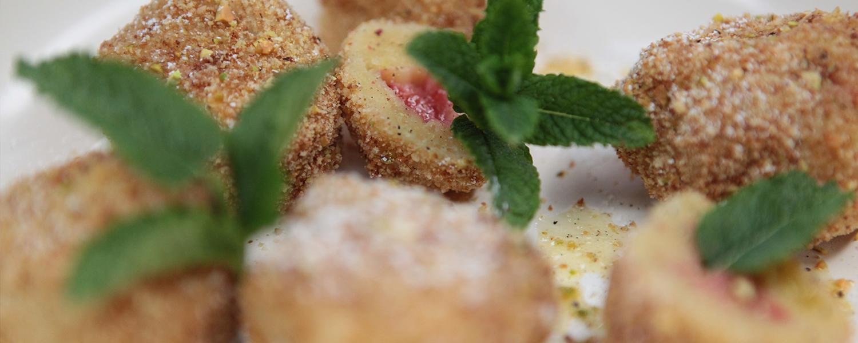 Erdbeer-Kartoffelknödel